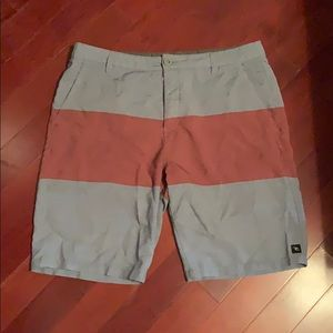 Rip curl, size 36 hybrid shorts